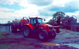 Druminard farm contracts with Slurry spreader/injector at Ruskey Road