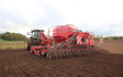 Johns agri service with Drill at Stowmarket