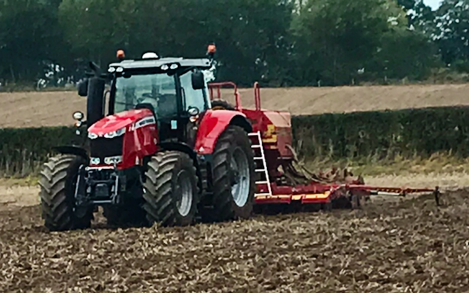 Bj rodenhurst with Drill at Farlow