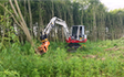 Bjælkehøj entreprenør aps med Gravemaskine ved Sorø