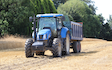 J w wellburn & son agricultural services with Silage/grain trailer at Wakefield