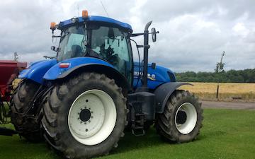 Fr-anlæg med Traktor 201-300 hk ved Herlufmagle