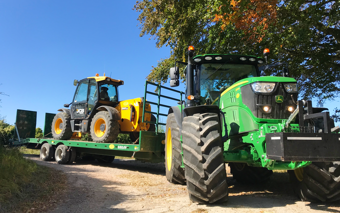 Toby wicks services with Tractor 100-200 hp at United Kingdom