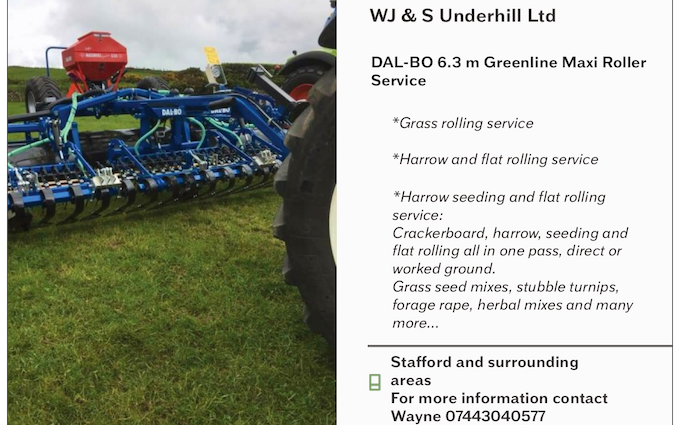 W j & s underhill ltd with Drill at Whiston