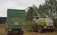 Chapman agriculture ltd  with Silage trailer at Cust