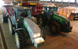 Warden farms with Manure/waste spreader at Chipping Warden