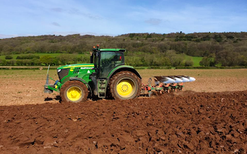 Tom bardwell contracting  with Plough at Weston-super-Mare