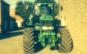 Stainton vale farm with Tractor 100-200 hp at Stainton