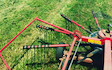 P j pengelly agricultural contracting  with Rake at Blackawton