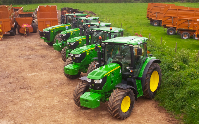 Sw machinery hire ltd with Tractor 100-200 hp at Lacock, Chippenham