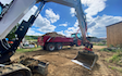 Peascliff contracting  with Excavator at Barkston
