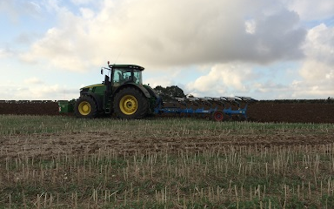 Girsby farm services ltd with Plough at Girsby Lane
