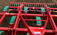 J & b e home farmers with Stubble cultivator at Atcham