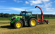 A c harris contracting  with Forage harvester at North Somerset