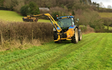 R and m coombes  with Hedge cutter at North Bovey