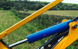 S.redfern & son with Hedge cutter at United Kingdom