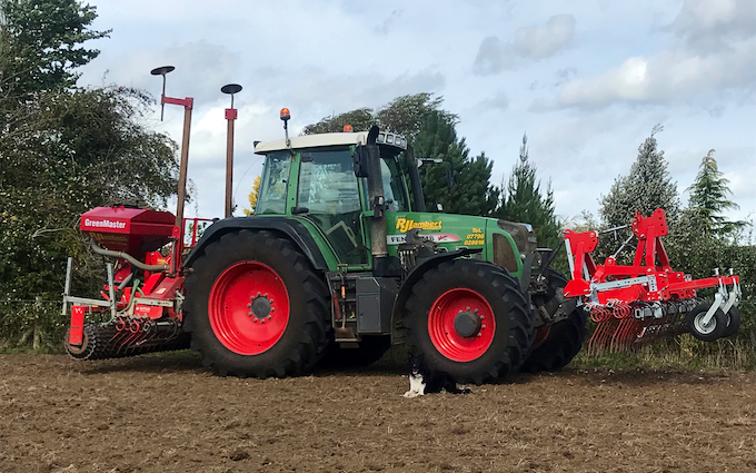 R j lambert contracting with Drill at Broughton Astley