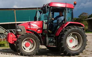 J walker  with Tractor 100-200 hp at United Kingdom