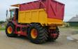 Van leunen agroservice  med Dumpervogn ved Ringkøbing