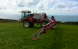 Simon shadrick contractors with Self-propelled sprayer at Ashwater