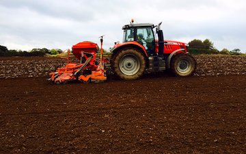Land and forestry ltd with Drill at United Kingdom