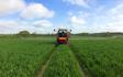 Jg & de hodgson  with Self-propelled sprayer at Kirkbride