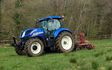 Allison's of liverton with Meadow aerator at Liverton