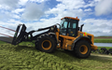 Rtb agri ltd with Wheel loader at Whakarongo