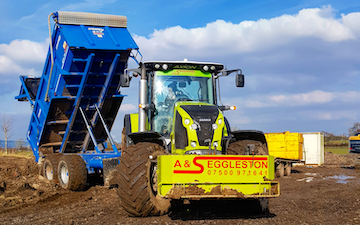 A&s eggleston with Dumper at United Kingdom