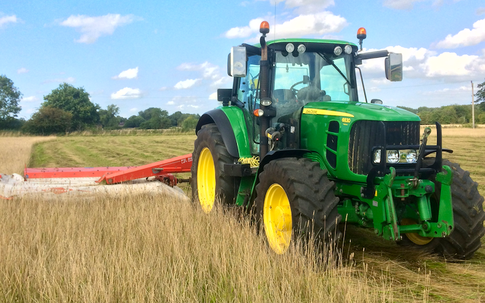 Aeh services with Mower at Cholsey