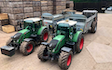 Russell price farm services with Manure/waste spreader at Castle Frome