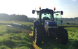 Clark farms  with Mower at Hangram Lane