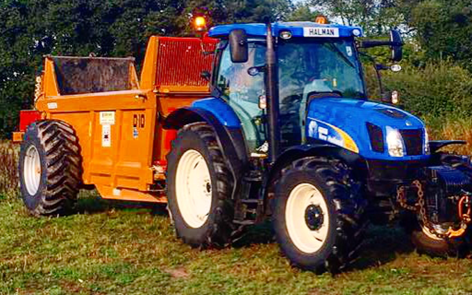 Bhf partnership  with Tractor 100-200 hp at United Kingdom
