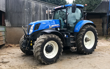 J goodall  with Tractor 201-300 hp at Leeds