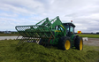 Chapman agriculture ltd  with Buckraking at Cust