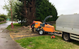 Taylor tree services with Wood chipper at Fosse Lane