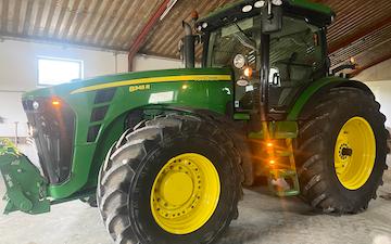 Mariagergård med Traktor over 300 hk ved Sønder Hostrup