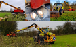 A&s eggleston with Hedge cutter at United Kingdom
