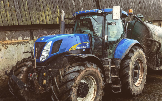 Wardagri with Tractor over 300 hp at United Kingdom