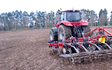 Kamac contracting with Seedbed cultivator at Ashburton