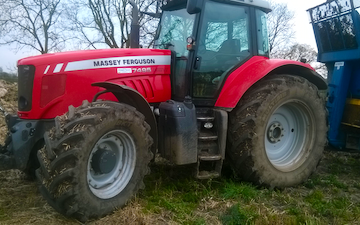 J r hudson with Tractor 100-200 hp at Whitemoor Lane