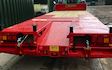 Neil chapman plant hire  with Tipping trailer at Bushs Orchard