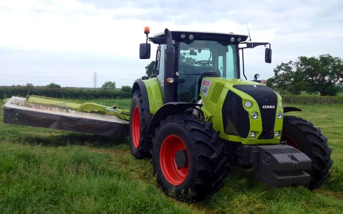 Darsdale contracts limited  with Mower at Ringstead