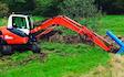 L. j. meaden  with Excavator at United Kingdom