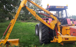 D.t.austin hedge cutting with Hedge cutter at United Kingdom