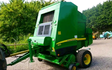 A j agriculture services  with Round baler at Blundeston