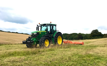 Toby wicks services with Verge/flail Mower at United Kingdom