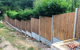 M & j oakley ltd with Fencing at Bygrave Road