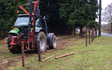 A j roberts farm & garden services with Fencing at Target Close