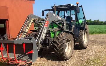 Bjarne krupa med Traktor 101-200 hk ved Jelling